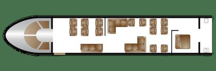 boeing bbj seat map