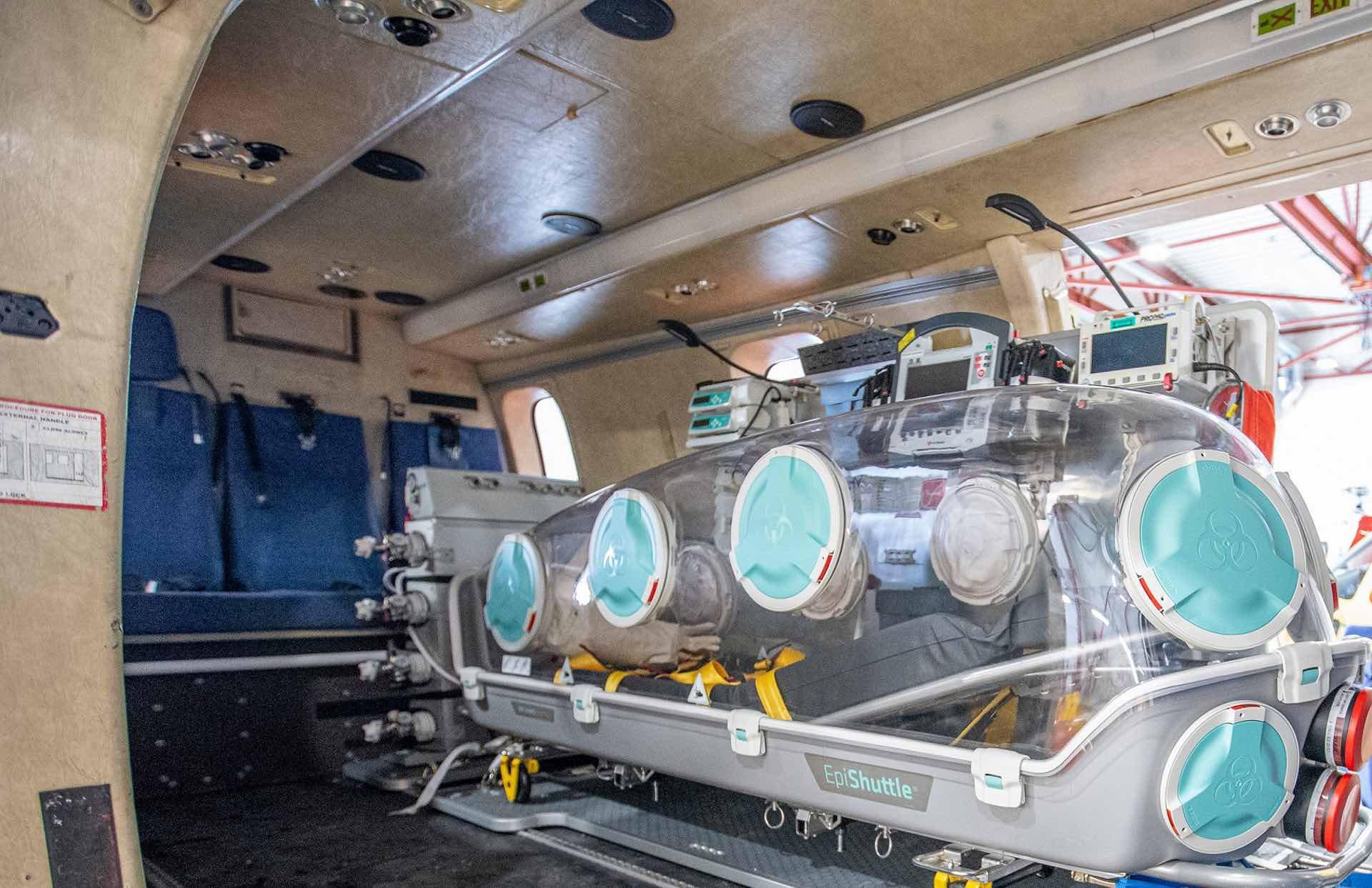 Air ambulance covid 19