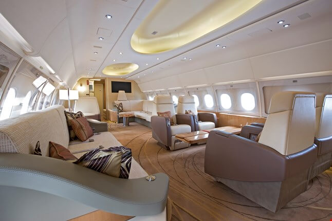 airbus a319 inside business class