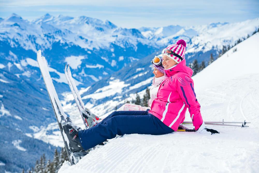 fly in ski resorts