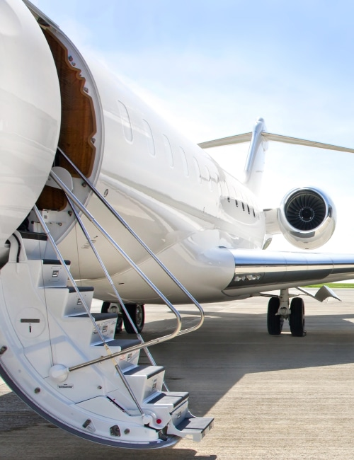Hire a lowest rate private jet charter