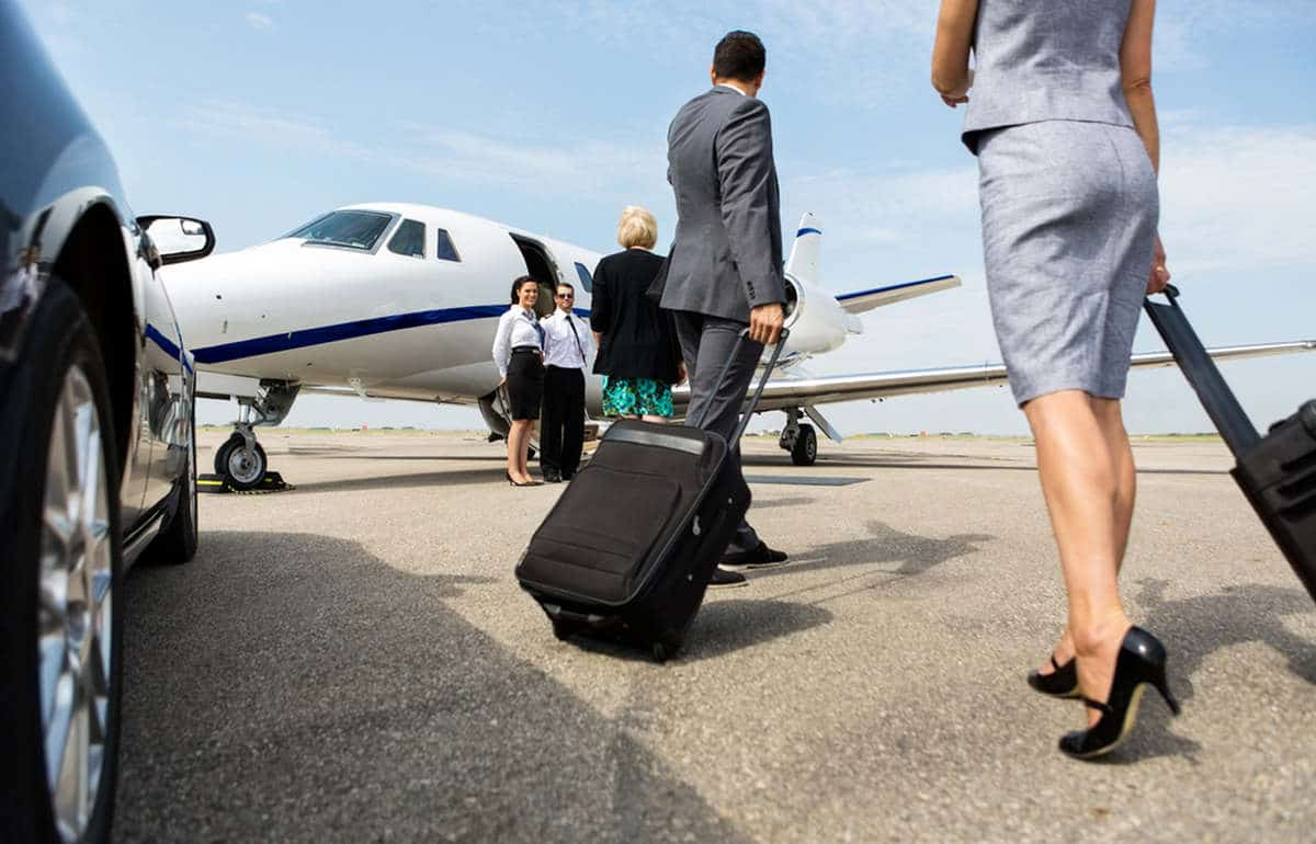 baggage handling in private jet
