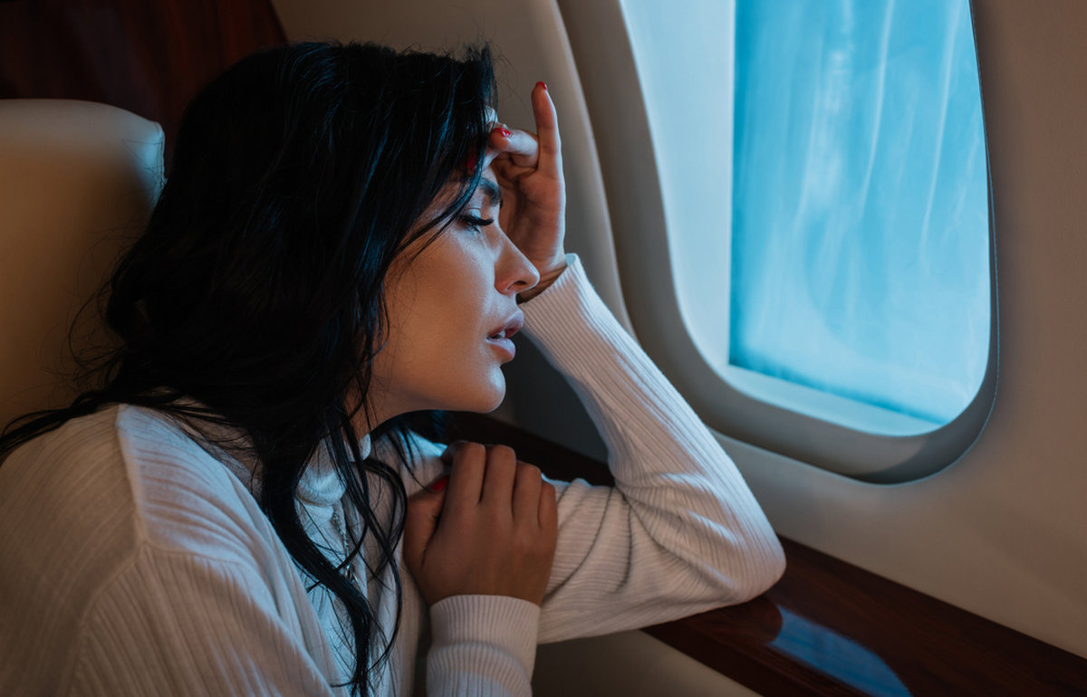 medications help to overcome the flight fear