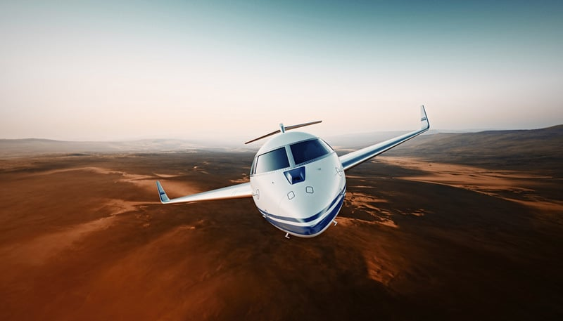 commercial flight and private flight safety